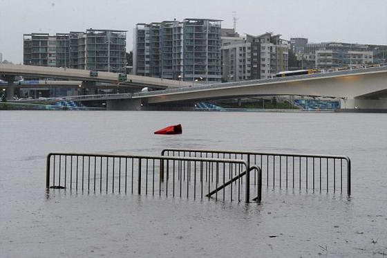 Затопленные улицы Австралии