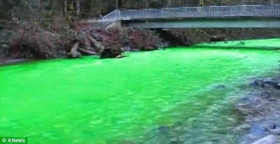 Река Голдстрим в парке Ванкувера