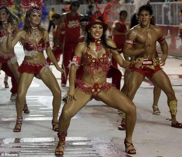 карнавал в Парагвае