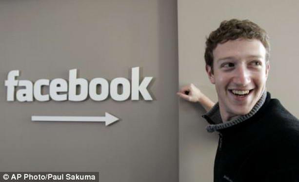 Марк Цукерберг facebook