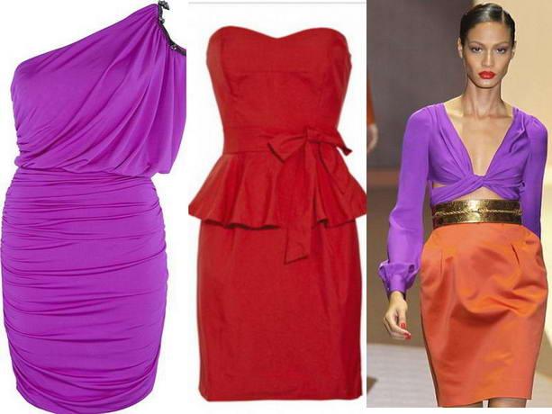 модный платья