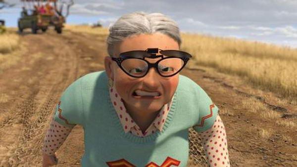 бабушка из Мадагаскара