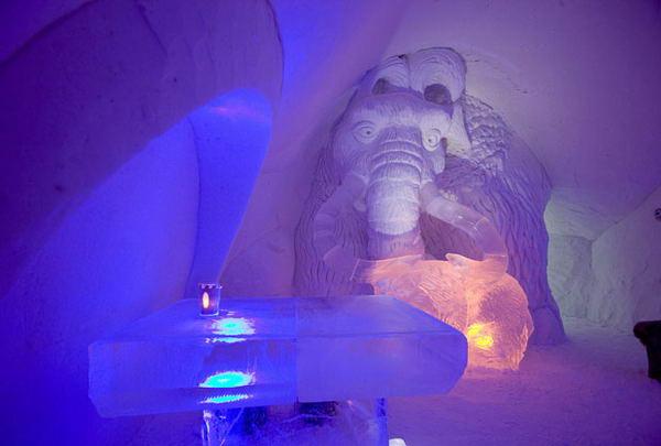 Мамонт из ледникового периода