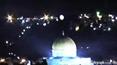 НЛО над Иерусалимом