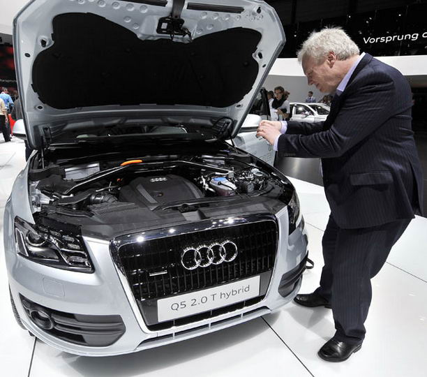 The Audi Q5 hybrid