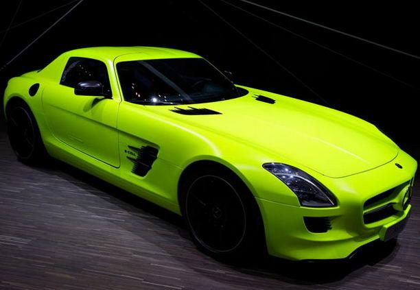 Mercedes AMG SLS E Cell