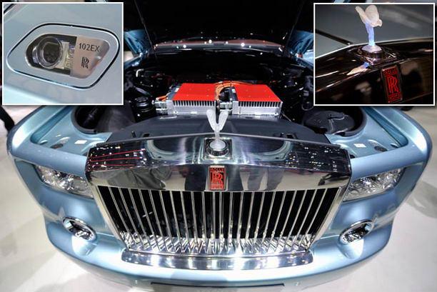 Электрический Phantom Rolls-Royce