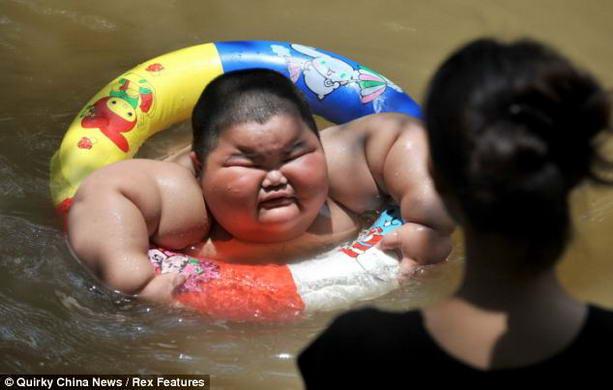 Самый толстый китайский ребенок