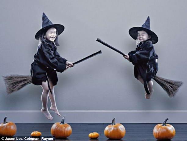Вальпургиева ночь дети-ведьмы