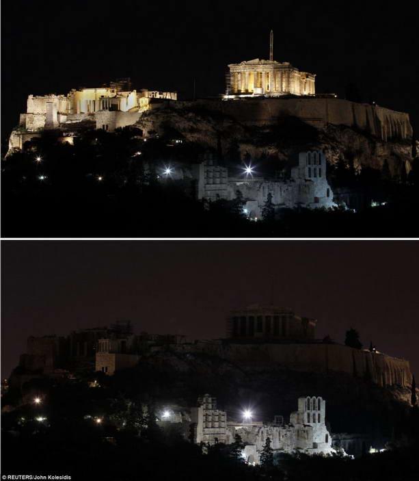 Акрополь и Иродион в Афинах