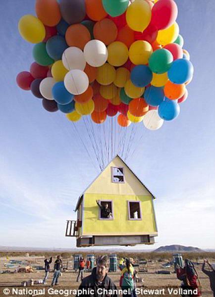 дом в воздухе