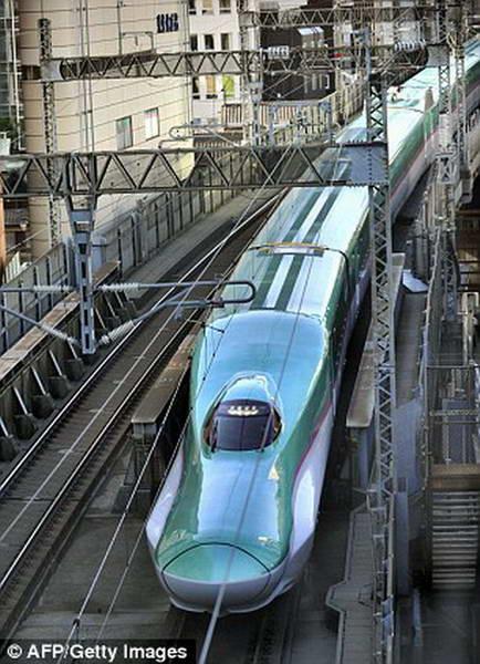 Самый быстрый японский поезд