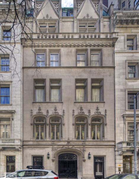 дом в Нью-Йорке