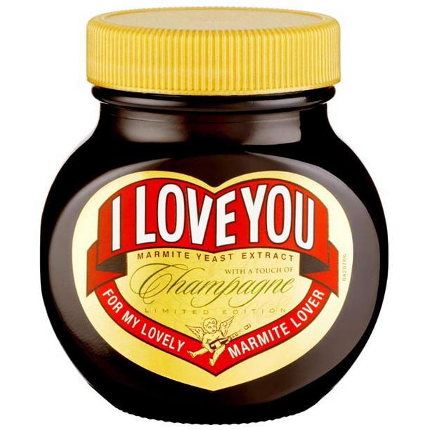 """Шоколадный крем Marmite """"Lovers """""""