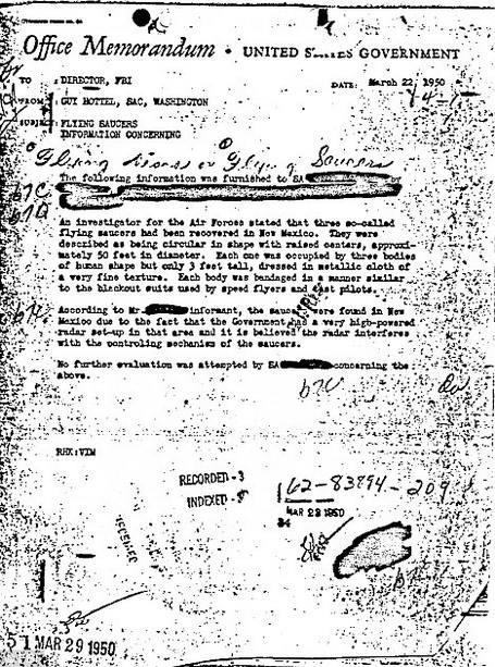 документы ФБР