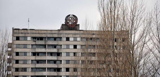 дом Чернобыль