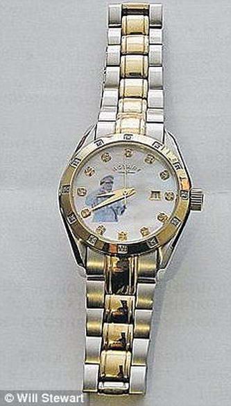 золотые часы Каддафи