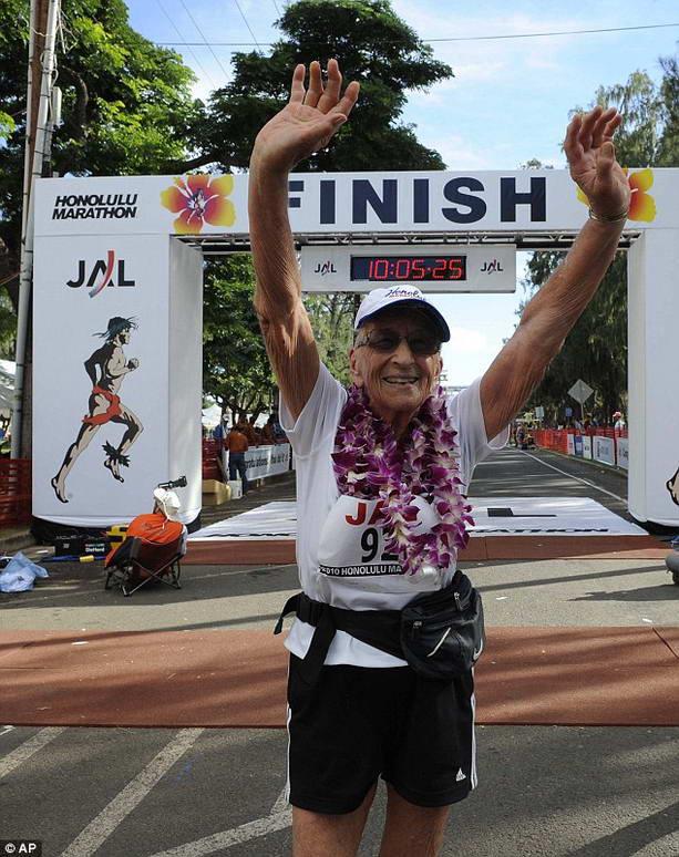 92-летняя рекордсменка Глэдис Беррилл