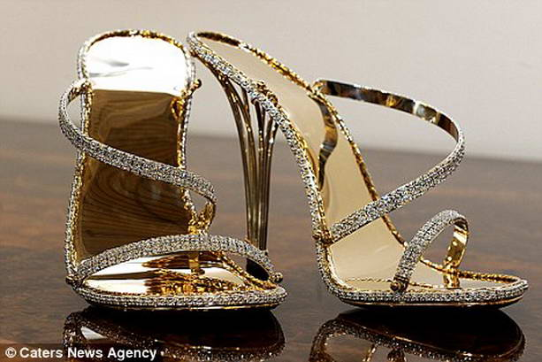 Самой дорогой обувью в мире признаны туфли The House of Borgezie за 22.