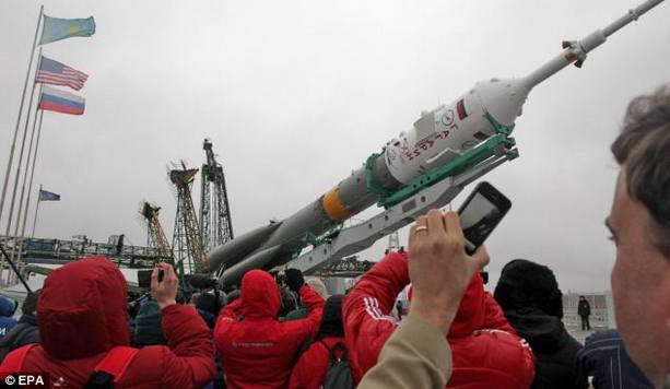 """космический корабль """"Союз ТМА-21"""""""