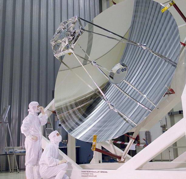 телескоп Herschel