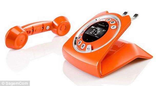 стильный телефон Dial R