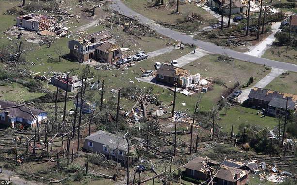торнадо США