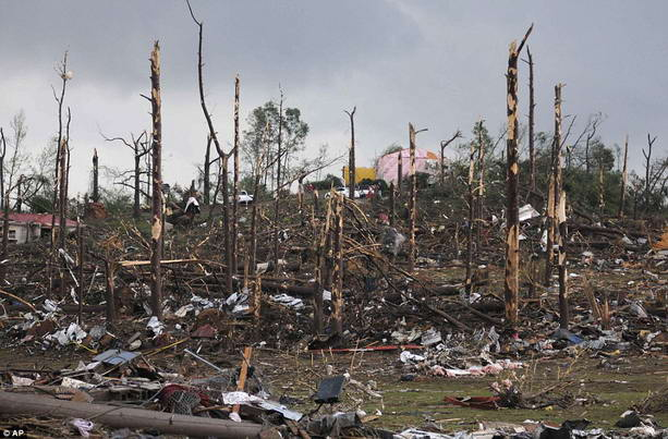 последствия торнадо США