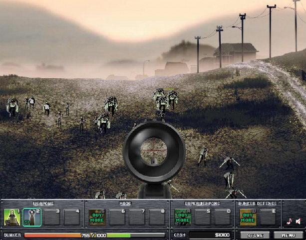 Последняя линия обороны от зомби