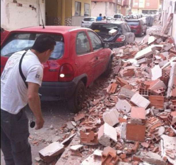двойное землетрясение в Испании