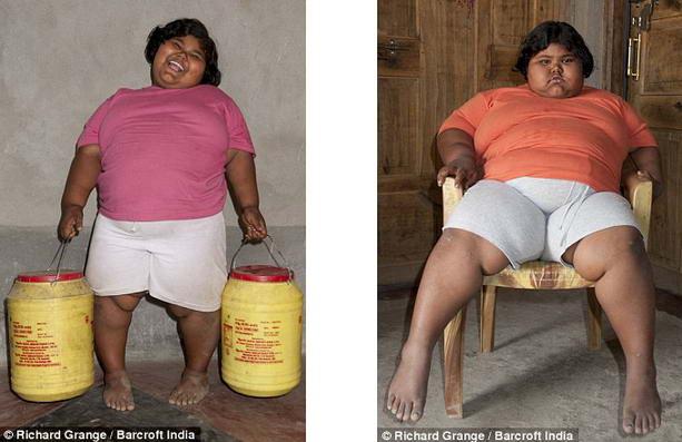 Самая толстая девочка