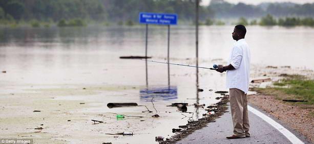 затопленная территория