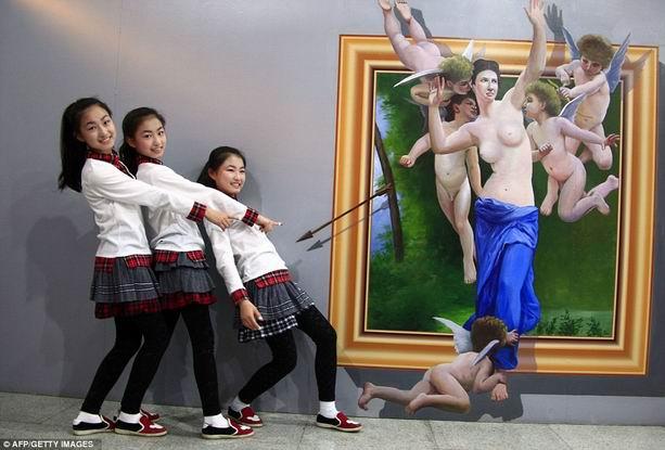 купидоны художника Ай Вэйвэй