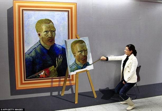 Ван Гог художника Ай Вэйвэй
