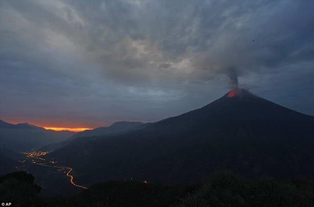 Извержение вулкана Тунгурауа