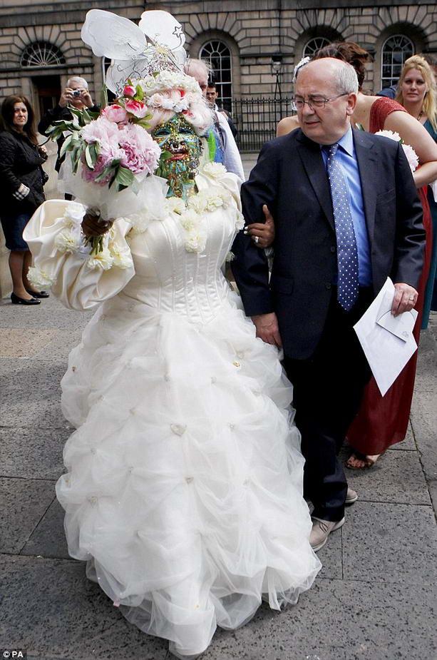 свадьба Элейн Дэвидсон