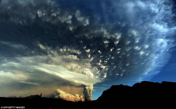 вулканическое пламя