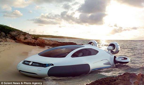 суперкар volkswagen aqua