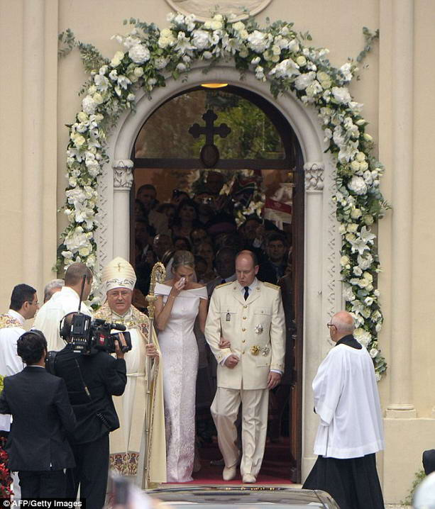 жена князя Монако Альберта II