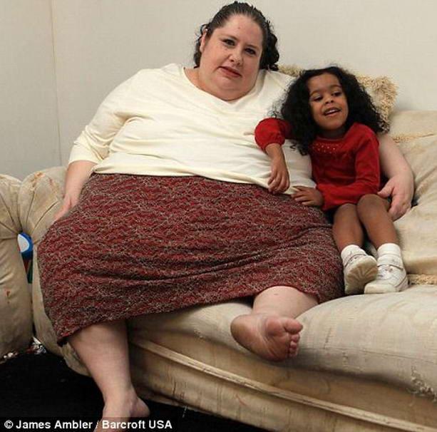 самая толстая мать