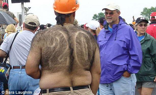 волосатая спина
