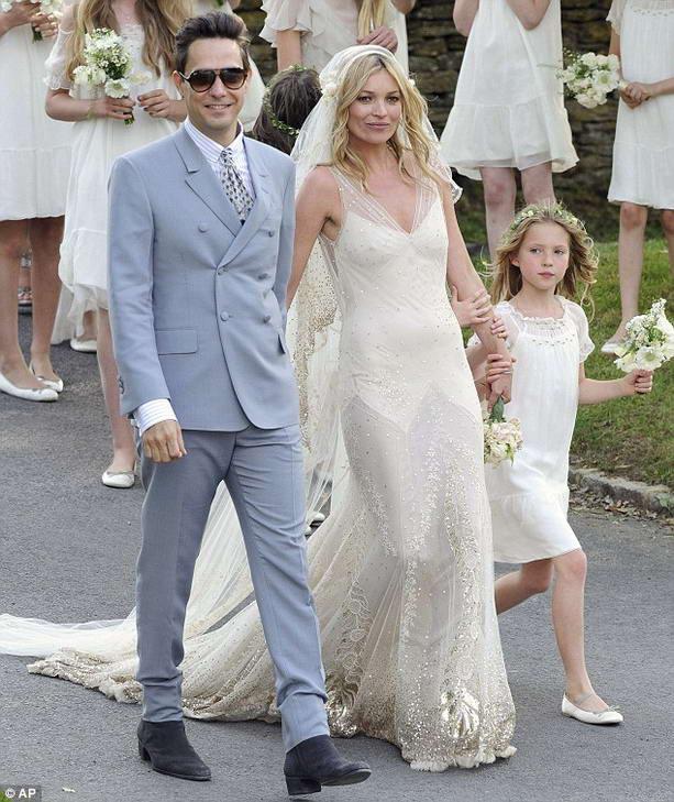 Кейт Мосс и Джейми Хинс свадьба