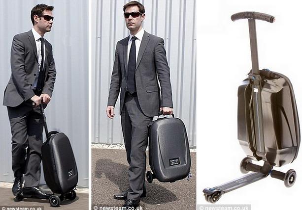 чемодан-скутер