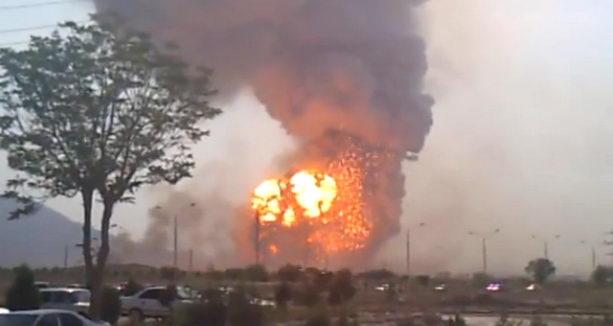 Взрывы Туркмения