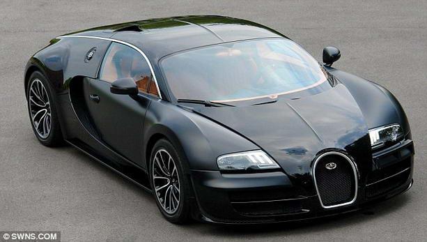 "Bugatti Veyron Super Sport ""Sang Noir"""