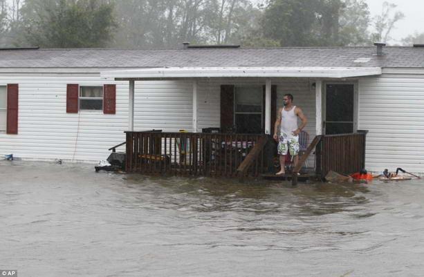 последствия урагана Ирэн
