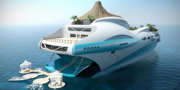 яхта Тропический остров Рай