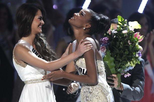 Мисс Украина и Ангола