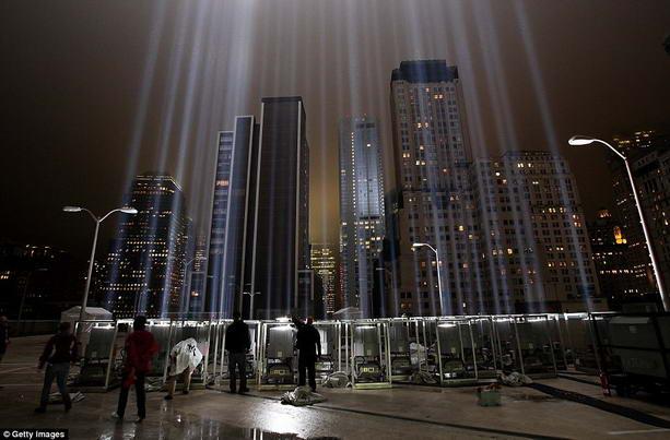 дань памяти катастрофе 11 сентября