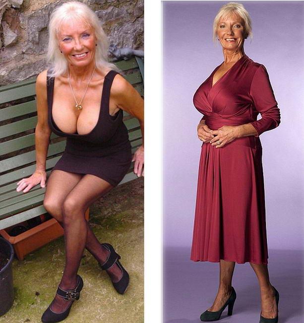 Блондинка силиконовой грудью #15